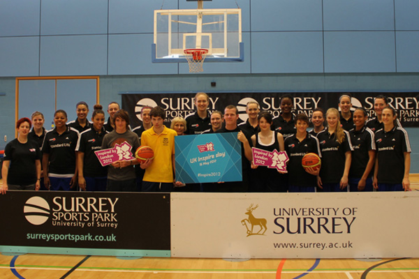 Surrey Sports Park Basketball