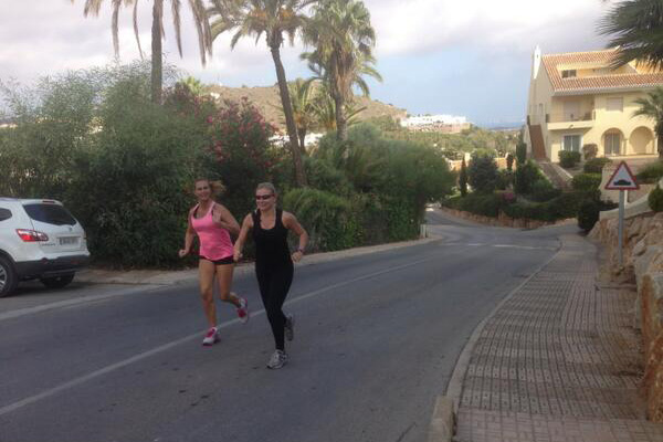 Fitness 12 Retreats Running Training