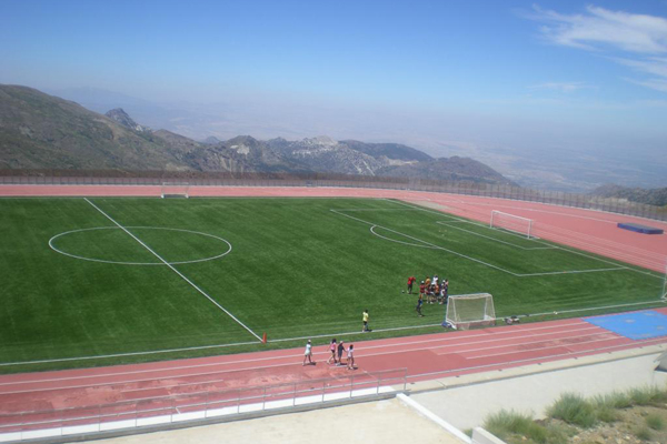 Sierra Nevada Artificial Grass Football Pitch