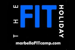 Tine Holst at Marbella Fit Camp