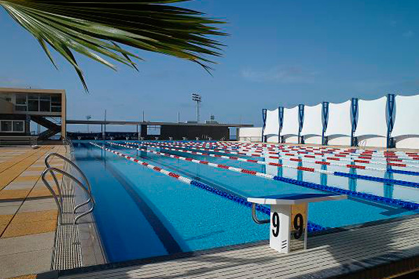Which training camp sports training for Piscina los cristianos