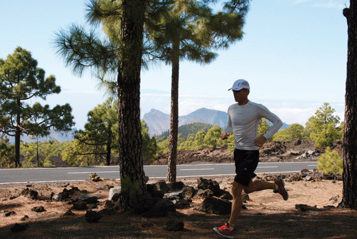 Running in Tenerife